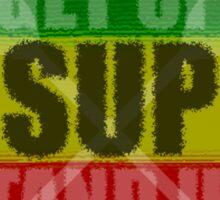 Get Up, Stand Up! Sticker