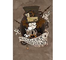 The Mad Hatter - Clockwork Wonderland Photographic Print