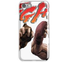 Ken Vs. Ryu - Fight iPhone Case/Skin