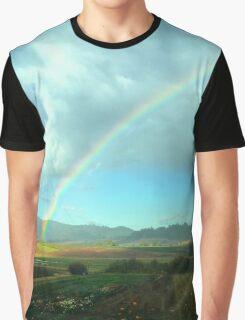 Rainbow Landscape  Graphic T-Shirt