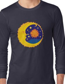 Harmony of The Moon and Sun Long Sleeve T-Shirt