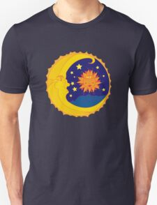 Harmony of The Moon and Sun Unisex T-Shirt