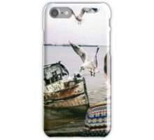 Washed Up Here Last Night iPhone Case/Skin