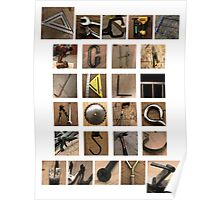 Build the Alphabet Poster