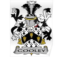 Cooley Coat of Arms (Irish) Poster