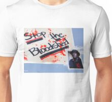ALFRED OLANGO: STATISTIC. (Please read  Artist Notes) Unisex T-Shirt