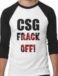 CSG - FRACK OFF! Men's Baseball ¾ T-Shirt