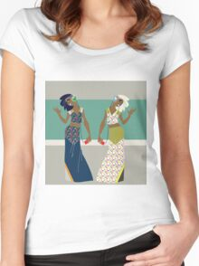 Musical Sisters Women's Fitted Scoop T-Shirt