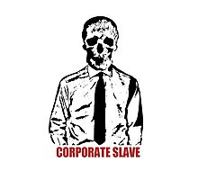 Corporate Slave Photographic Print
