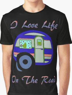Life On The Road Graphic T-Shirt