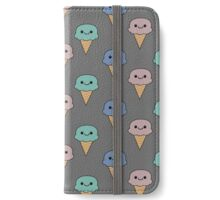 Cute ice cream  iPhone Wallet/Case/Skin