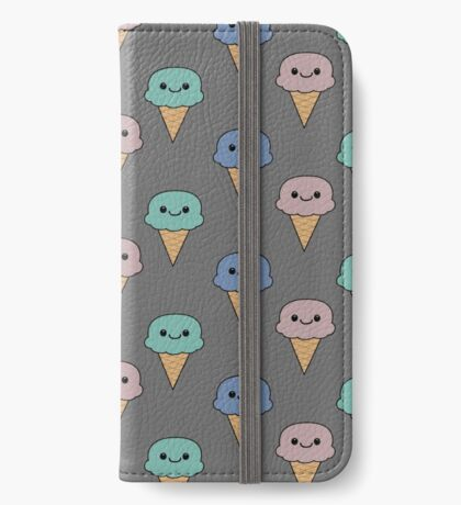 Cute ice cream  iPhone Wallet/Case/Skin