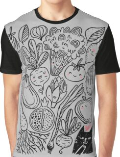 Funny vegetables Graphic T-Shirt