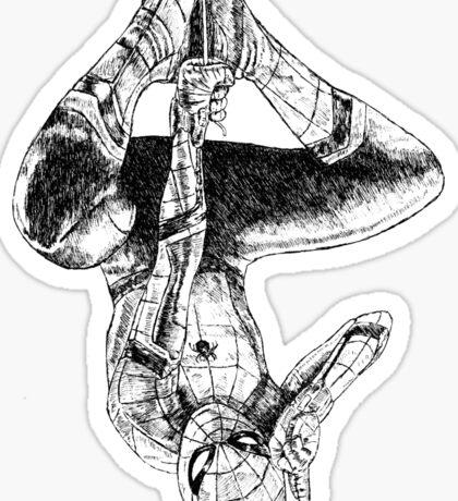 The Spider-Man Salute Sticker