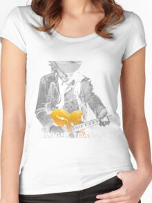 DWIGH YOAKAM Women's Fitted Scoop T-Shirt