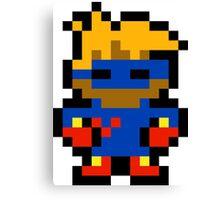 Pixel Captain Novolin Canvas Print