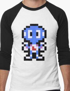 Pixel Davy Men's Baseball ¾ T-Shirt