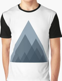 Triangle Mountains Graphic T-Shirt