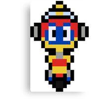 Pixel Rocket Canvas Print