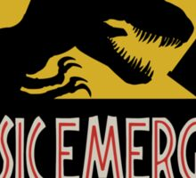 Jurassic Emergency Sticker