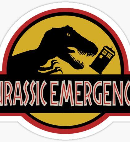 Jurassic Emergency Sticker