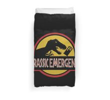 Jurassic Emergency Duvet Cover