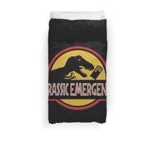 Jurassic Emergency Duvet Cover