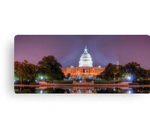 Washington's Dream Capitol Canvas Print