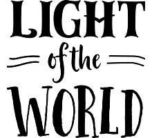 Light of the World Photographic Print