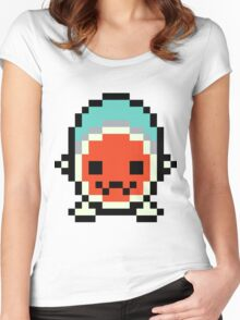 Pixel Don-Chan Women's Fitted Scoop T-Shirt