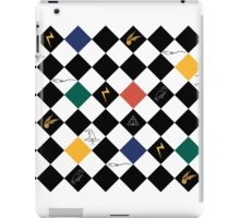 A Very Potter Checker Print iPad Case/Skin