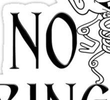 No Springs! Sticker