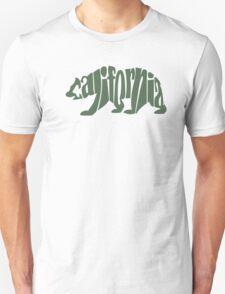 Green California Bear Unisex T-Shirt
