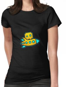 Geometry Dash Womens Fitted T-Shirt