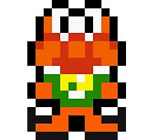 Pixel James Pond Photographic Print