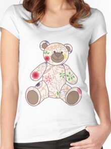 Bear toy vintage Women's Fitted Scoop T-Shirt