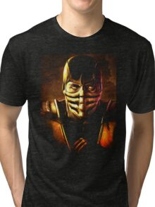 Scorpion Mortal Kombat Tri-blend T-Shirt