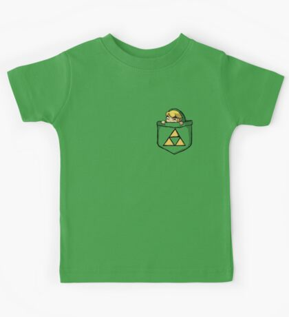 Legend of Zelda - Pocket Link Kids Tee