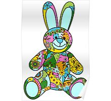 Bunny toy Poster