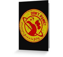 Hitchhiker's Guide Greeting Card