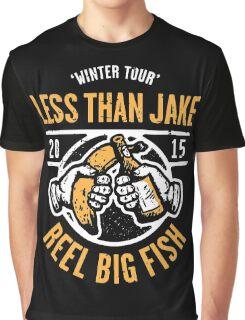 Reel Big Fish Vs Less Than Jake Winter Tour 2015 Graphic T-Shirt