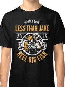 Reel Big Fish Vs Less Than Jake Winter Tour 2015 Classic T-Shirt