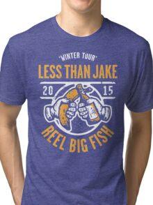 Reel Big Fish Vs Less Than Jake Winter Tour 2015 Tri-blend T-Shirt
