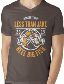Reel Big Fish Vs Less Than Jake Winter Tour 2015 Mens V-Neck T-Shirt