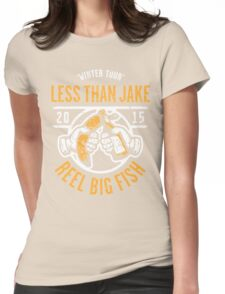 Reel Big Fish Vs Less Than Jake Winter Tour 2015 Womens Fitted T-Shirt