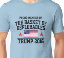 Deplorable TRUMP 2016 Unisex T-Shirt