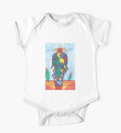 Lady of the Sun One Piece - Short Sleeve