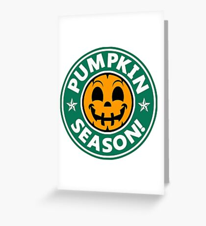 Pumpkin Season-Variant 1 Greeting Card