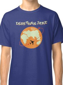 Around The World With Less Than Jake Classic T-Shirt