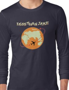Around The World With Less Than Jake Long Sleeve T-Shirt